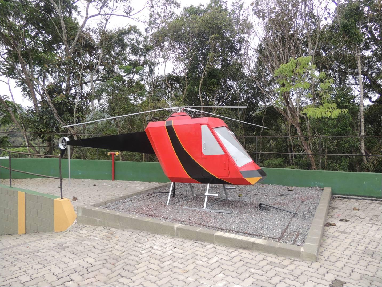 CENTRO DE TREINAMENTO SÃO LOURENÇO DA SERRA - Helicoptero - São Lourenço